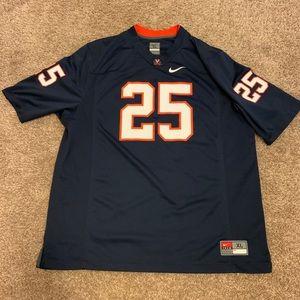 NWOT Authentic Nike UVA Football Jersey